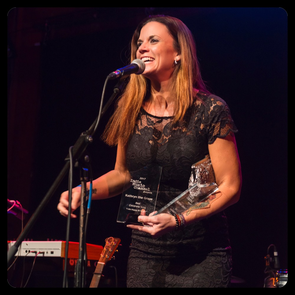 Kathryn Cloward Indie Music Channel Awards