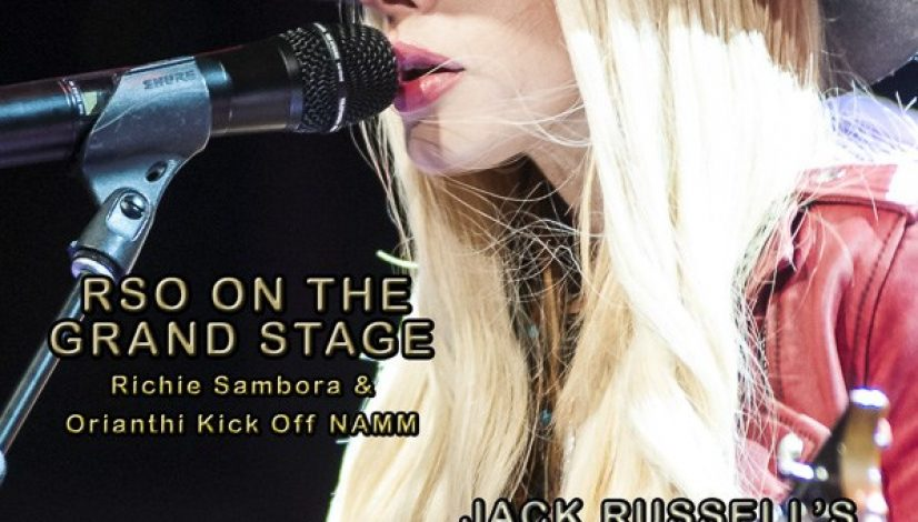 BackStage360 Cover with Orianthi Kathryn Cloward Feature Article