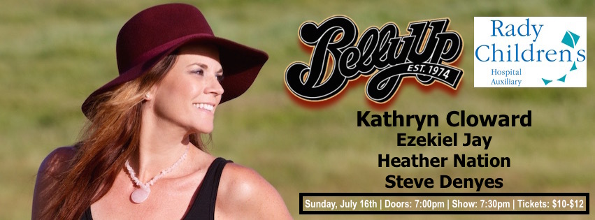 Kathryn Cloward Belly Up Benefit Concert for Rady Children's