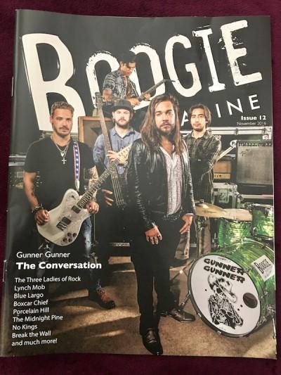 Kathryn Cloward in Boogie Magazine