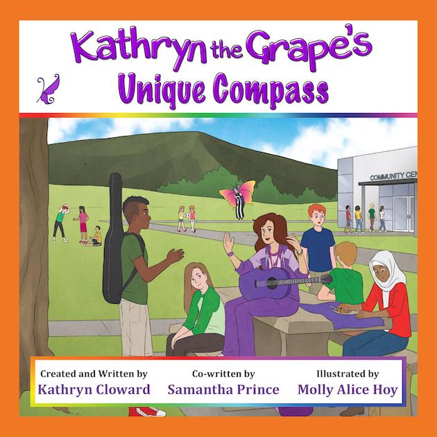 Kathryn the Grape's Unique Compass by Kathryn Cloward