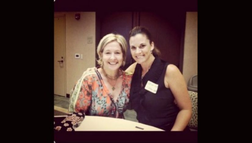 Kathryn Cloward with Brene Brown