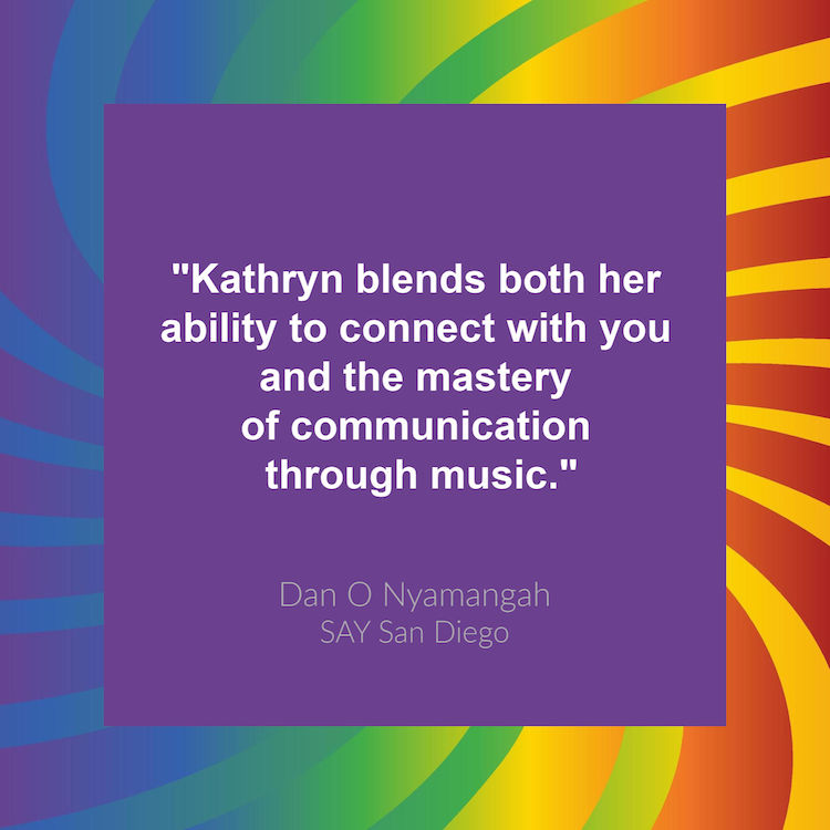 Dan O Nyamangah SAY San Diego Quote Kathryn Cloward