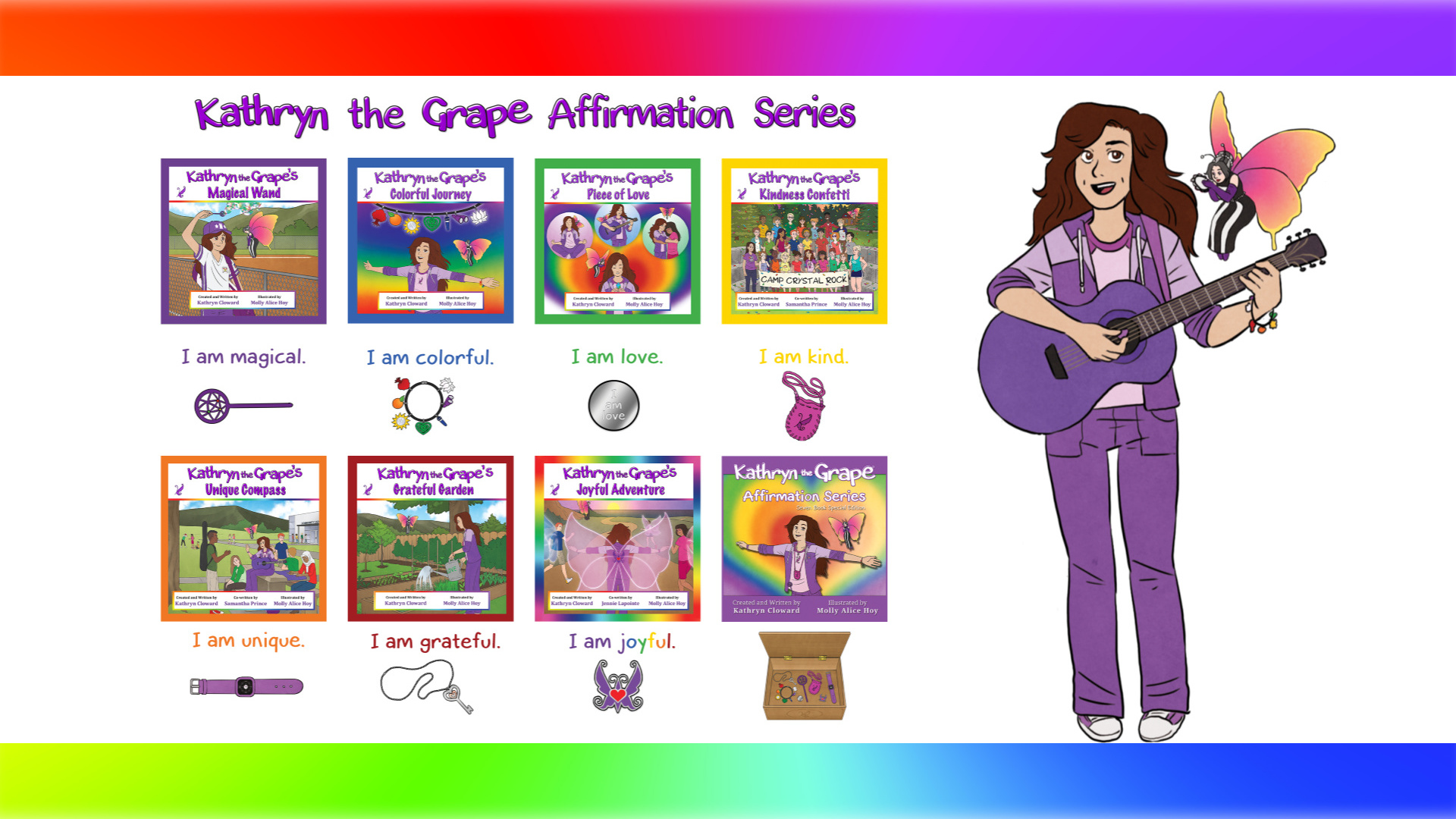 Kathryn the Grape Affirmation Series by Kathryn Cloward 1920 x 1080