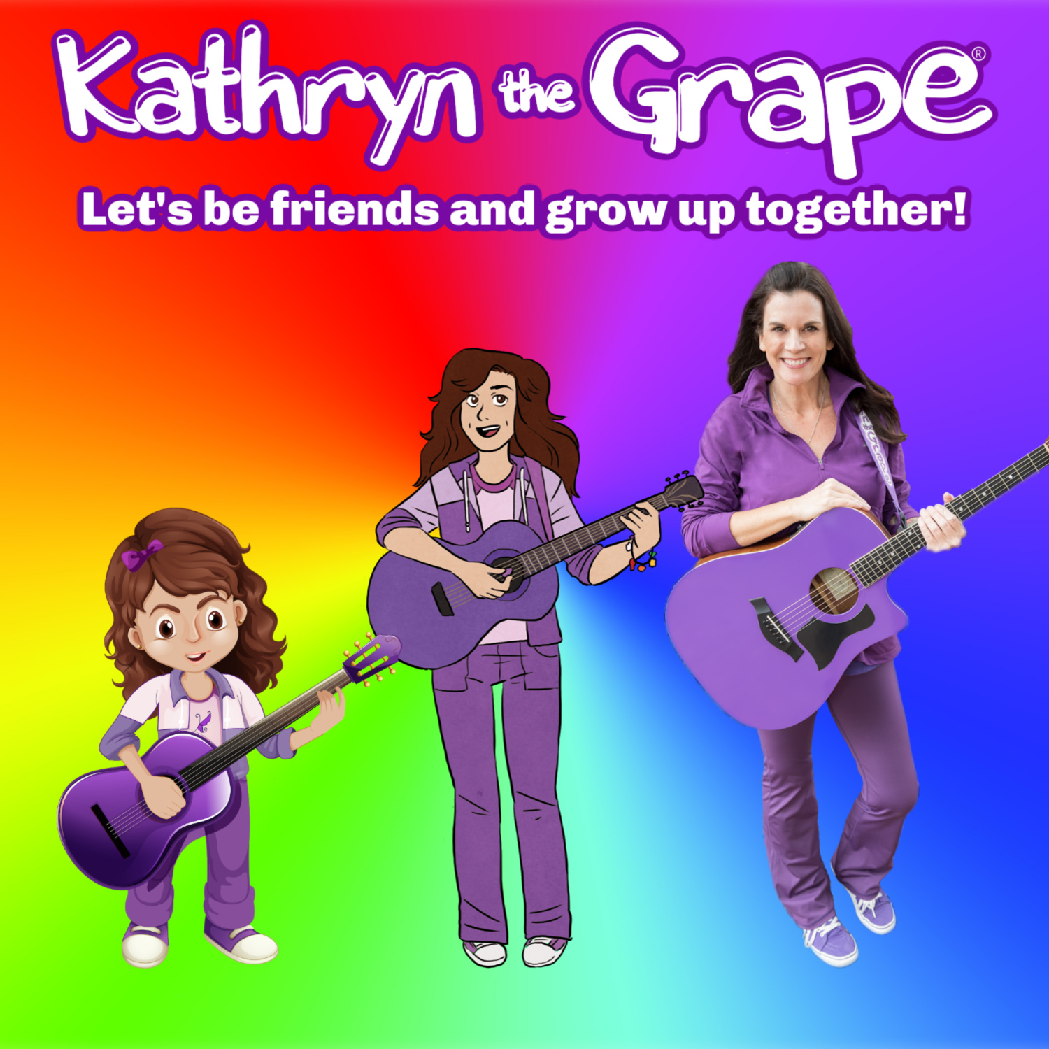 Kathryn the Grape let's Be Friends and Grow Together