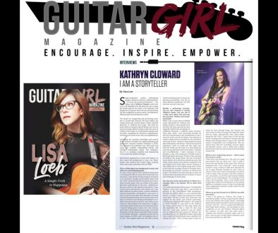 Kathryn Cloward I Am a Storyteller page 64 Guitar Girl Magazine 1400 x 1400
