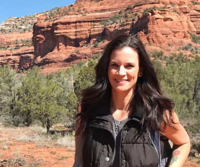 Kathryn Cloward in Sedona