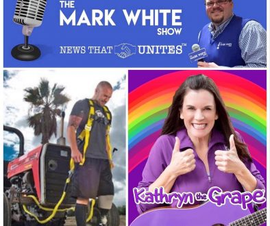 Kathryn Cloward Kathryn the Grape Interview on The Mark White Show
