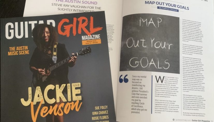 Guitar Girl Magazine Summer 2020 MAP Out Your Goals 2020