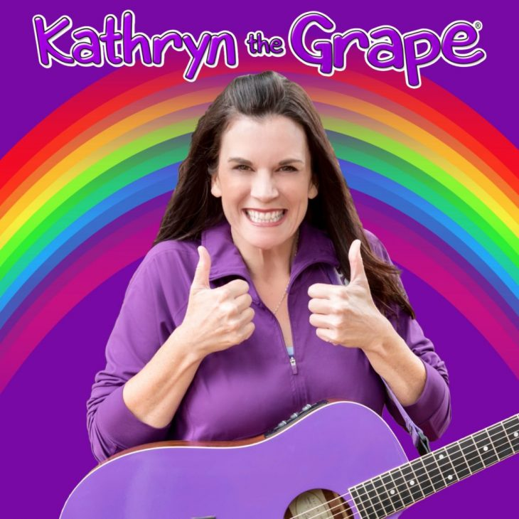 Kathryn Cloward is Kathryn the Grape.