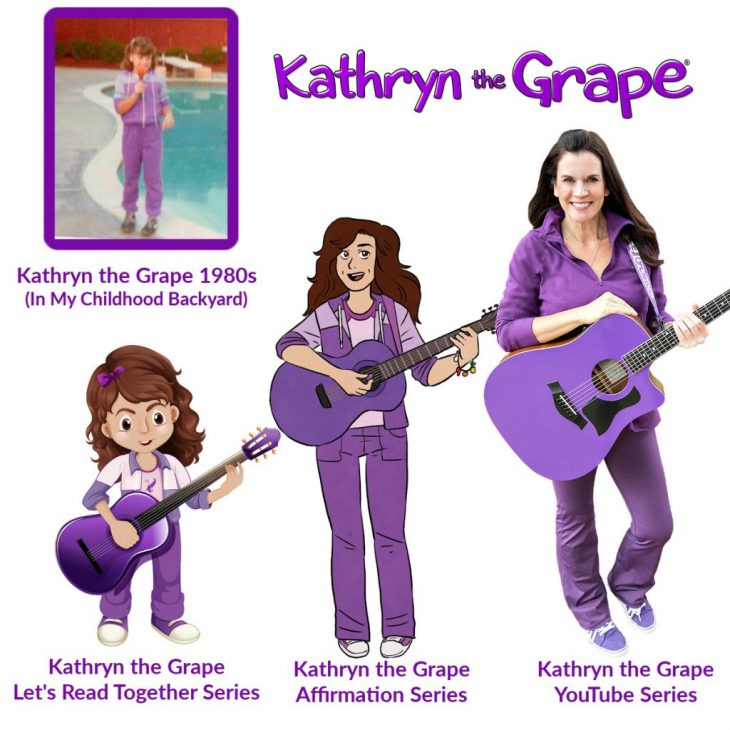 Kathryn the Grape Award-Winning Books and Songs by Kathryn Cloward