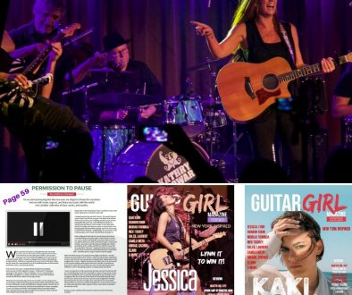 Guitar Girl Magazine Winter 2021 Kathryn Cloward