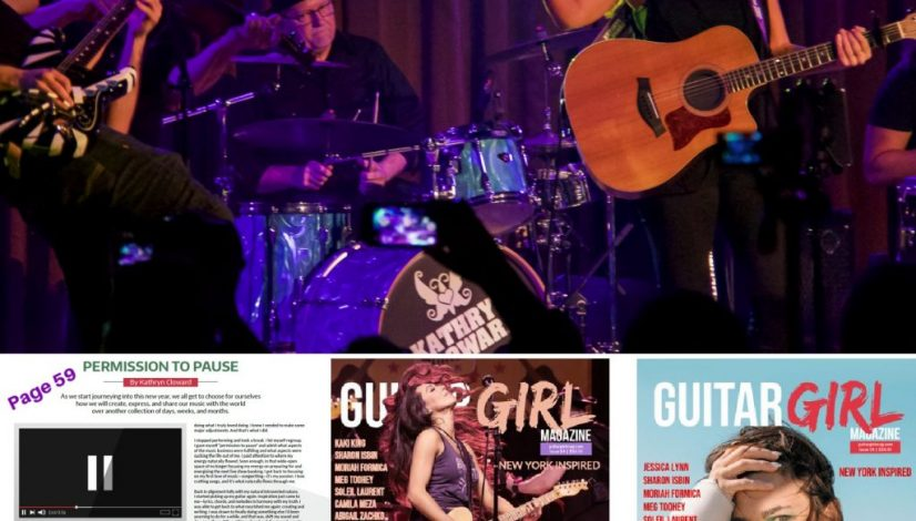 Guitar Girl Magazine Winter 2021 Kathryn Cloward