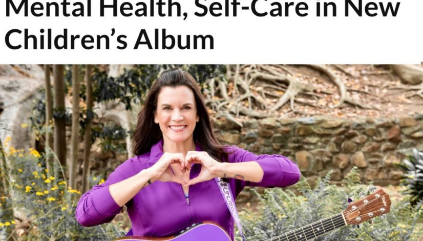 Kathryn Cloward Times of San Diego Songwriting Focuses on Mental Health, Self-Care in New Children's Album