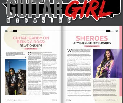 Guitar Girl Magazine Kathryn Cloward Spring 2021