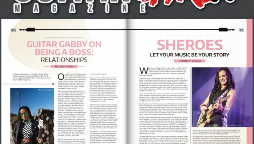 Guitar Girl Magazine Kathryn Cloward Spring 2021