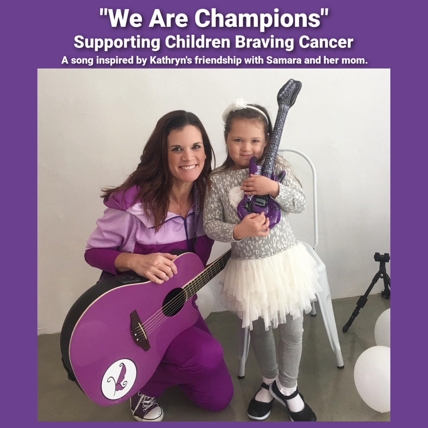 Kathryn Cloward We Are Champions Supporting Children Braving Cancer