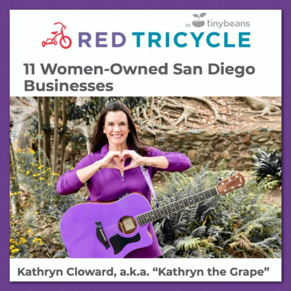 Kathryn Cloward in Red Tricycle San Diego Women Owned Businesses