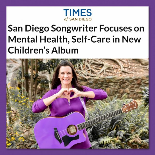 Kathryn Cloward in Times San Diego New Kathryn the Grape Album Focuses on Mental Health and Self Care
