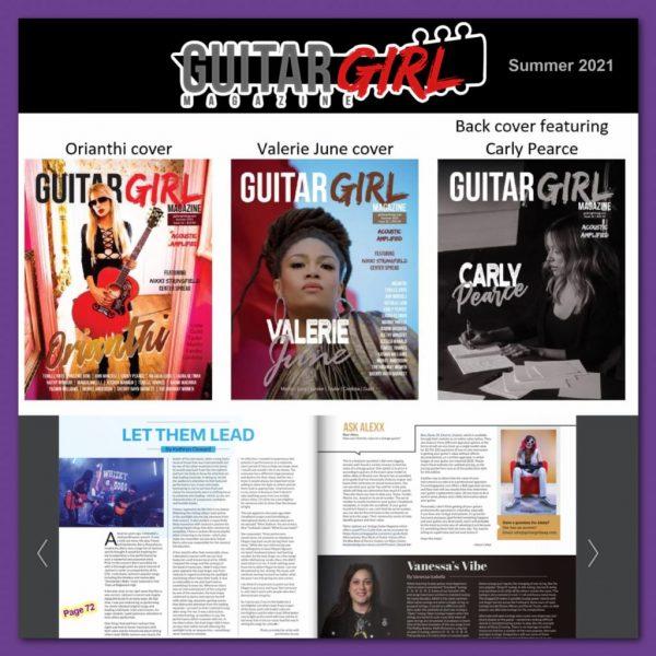 Guitar Girl Magazine Summer 2021 Kathryn Cloward