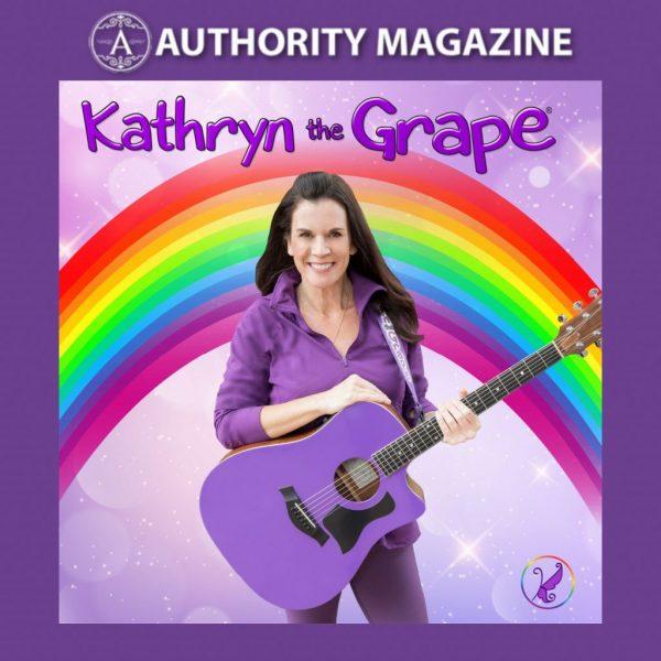 Kathryn Cloward in Authority Magazine Kathryn the Grape Social Change